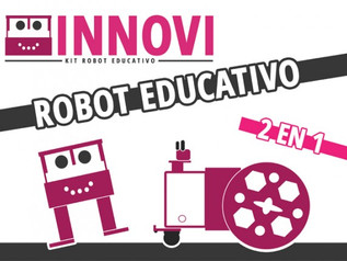 "INNOVI, NUESTRO ROBOT EDUCATIVO ""MADE IN PAMPLONA"""