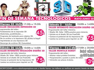 Talleres tecnológicos para niñ@s y adultos en Innovaland (Itaroa)