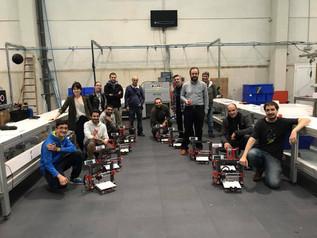 Resumen de la 1º edición curso montaje impresoras 3D Pamplona. 30 de septiembre del 2017.