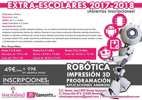 extraescolares robótica Pamplona