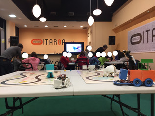 Taller de robótica educativa en Itaroa