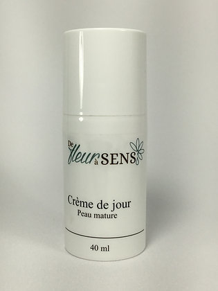 Crème de jour peau mature