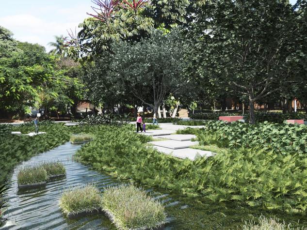 Revitalização e Abertura de Trecho Córrego Verde