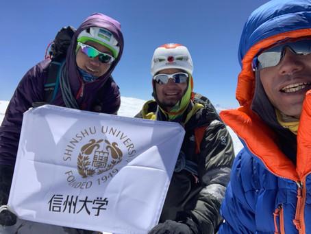 ヒムルンヒマール登頂