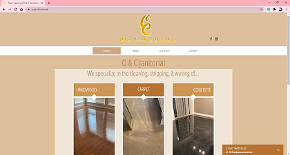 OCJanitorial Site Completed by Authentic Expressions.PNG