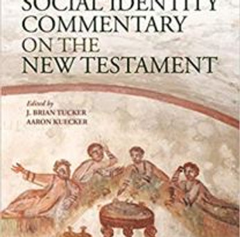 Book Notice: T&T Clark Social Identity Commentary on the New Testament (@TandTClark, @JBrianTuck