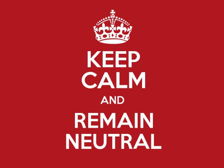 The Myth of Neutrality (#OneChurchPlanMyths #UMC)