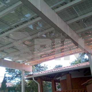 Pergolado - Sistema com Impermeabilização