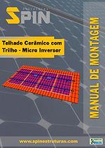 Telhado Ceramico com Trilho Micro Invers