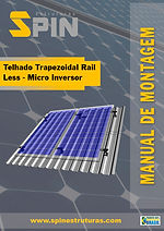 Telhado Trapezoidal Rail Less Micro Inve