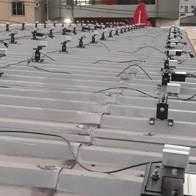 Telhado Trapezoidal - Sistema Rail Less
