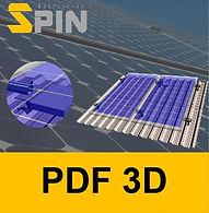 Telhado Trapezoidal Rail Less - Micro In