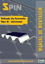 Telhado de Concreto tipo W - Universal.j