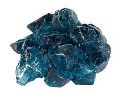 Glas Light Blue 5-8cm