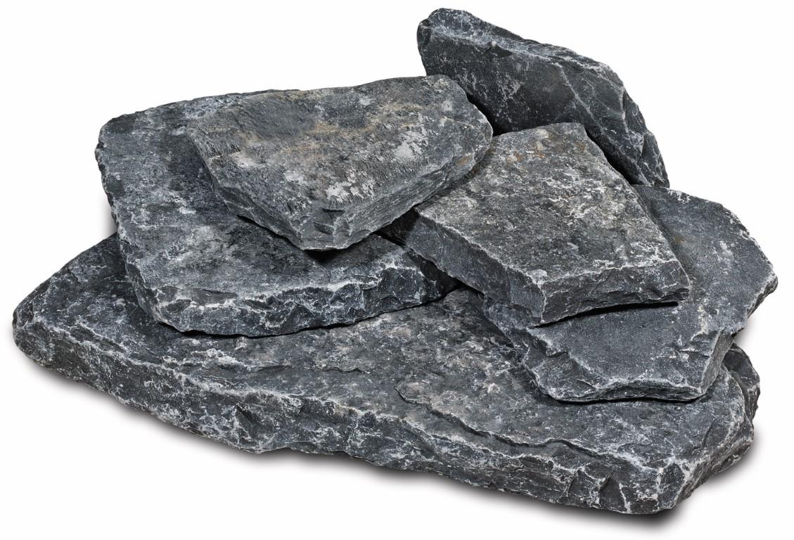 Karia pebbles Black 15-35 cm