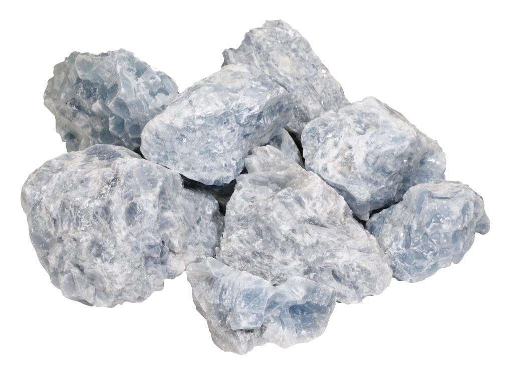 Halfedelsteen Calcito Blue 8-20cm
