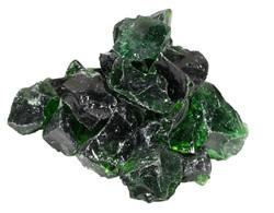 Glas Dark Green 5-8cm