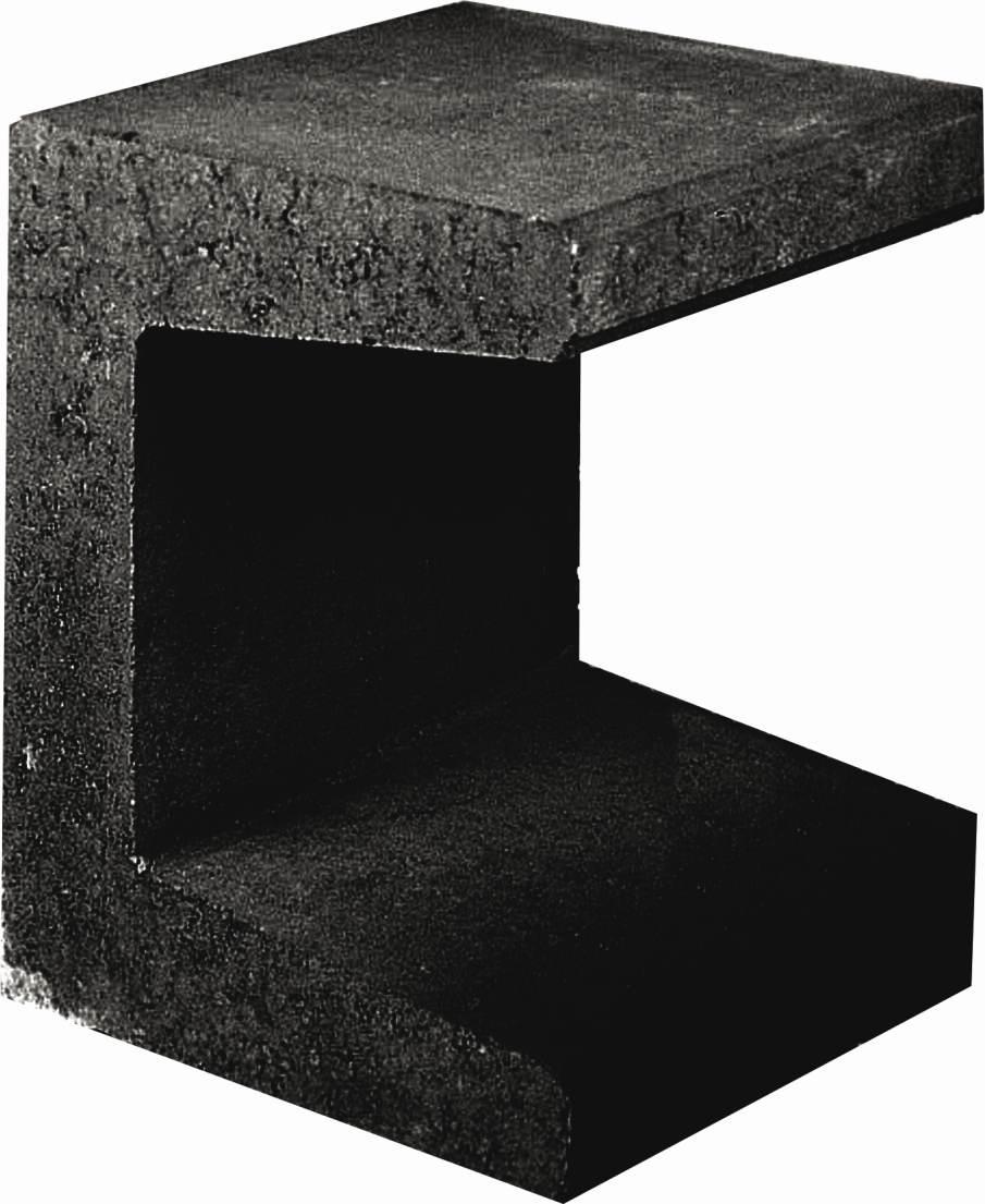U-element zwart