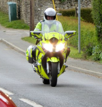 Emergency Bikers Support the Open Day