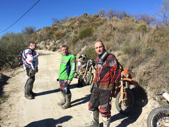 ARNY Off Road Spanish Raid January 2017