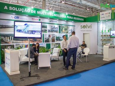 Solví Soluções Industriais marca presença na Pollutec 2017