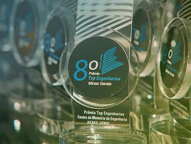 Essencis MG recebeu 8º Prêmio Top Engenharias