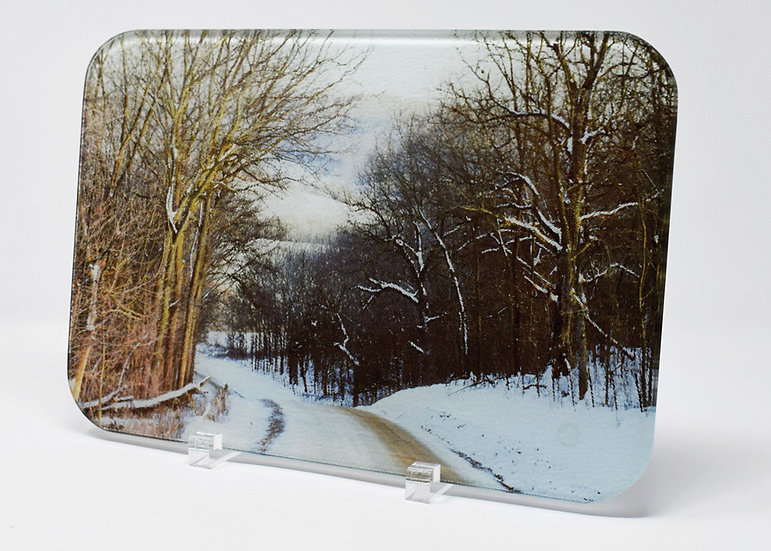 Cutting Board: And Thru The Woods