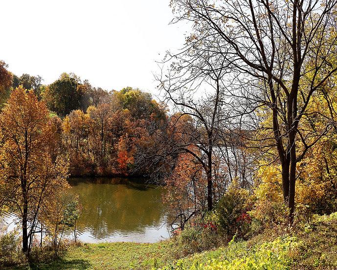 Autumn Visits Lake Galena
