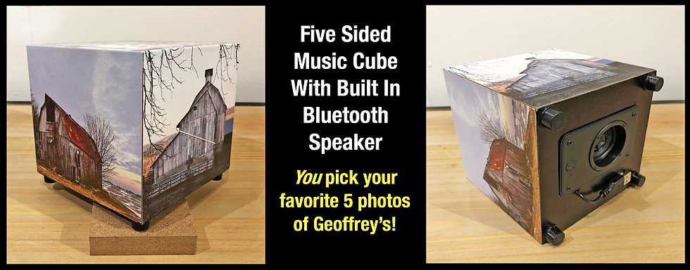 Music Cube with 5 Images