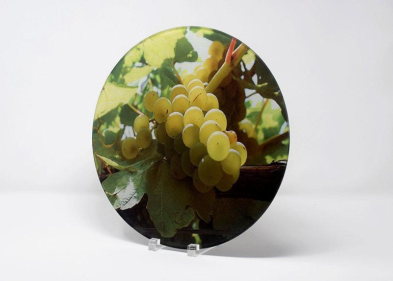 Round Cutting Board - Almost Wine