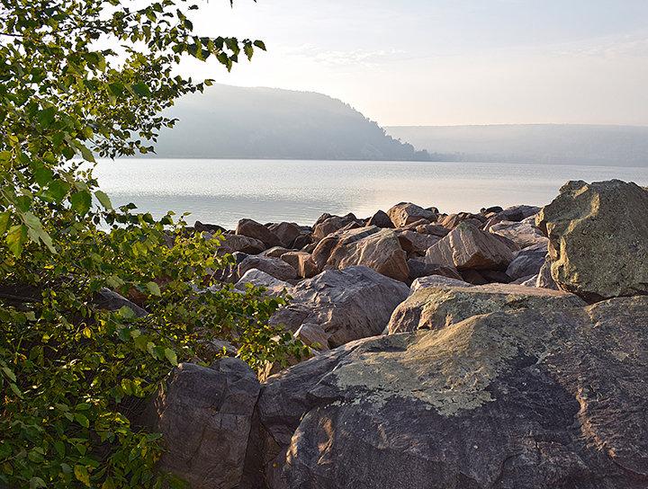 Across The Rocks