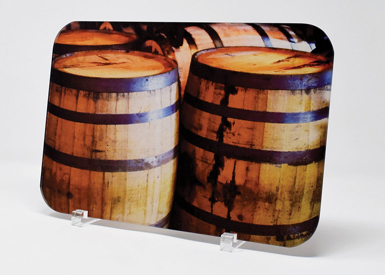Cutting Board: Roll Out The Barrels