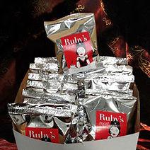 Ready to serve Ruby's Roast Coffee