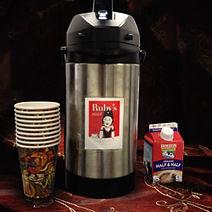 Ruby's Roast Coffee service