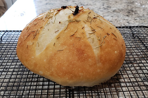 Roasted Garlic with Rosemary