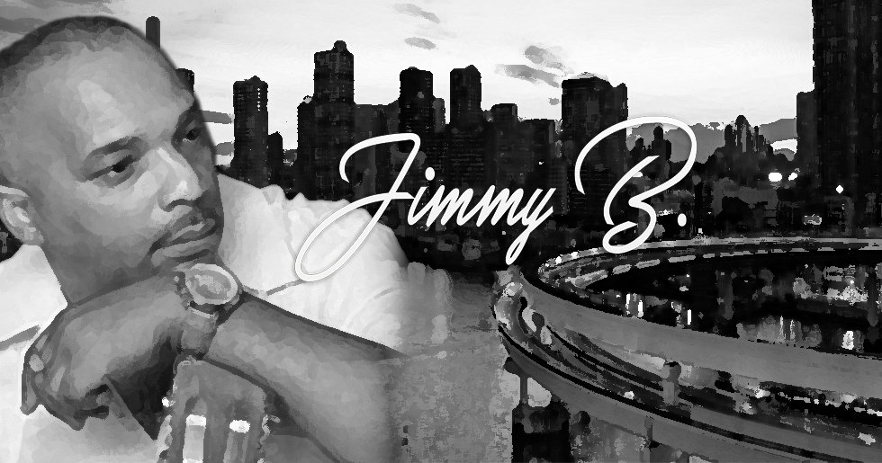 Jimmy B MAIN WEB IMAGE BW Painting