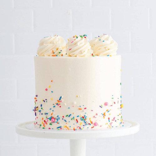 Ultimate Confetti Birthday Cake