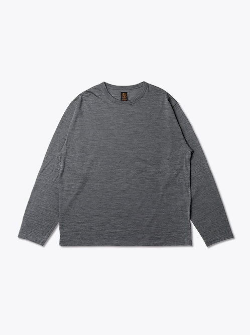 Men's WASHABLE WOOL LONG SLEEVE