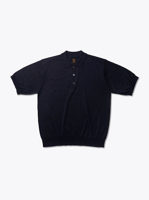 Men's 4SEASONS WOOL HALF SLEEVE POLO