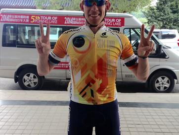 Conor takes Most Aggressive Rider jersey