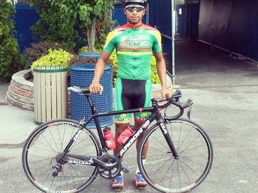 Geron Williams wins Guyanese National Road Race