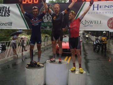 Podium for Tino at Roswell