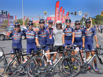 Conor finished 5th at Tour of Poyang Lake