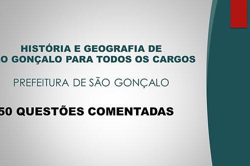 HISTÓRIA E GEOGRAFIA DE SÃO GONÇALO