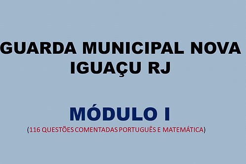 MÓDULO I GUARDA MUNICIPAL NOVA IGUAÇU RJ