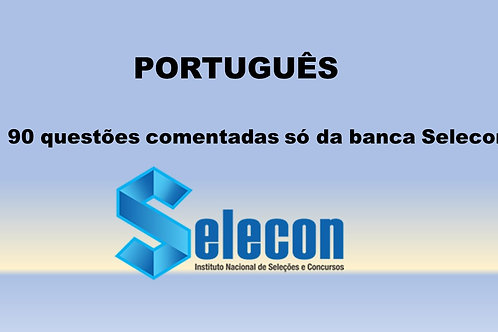 Português só da Banca SELECON
