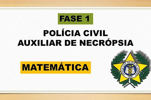 MATEMÁTICA AUXILIAR DE NECRÓPSIA FASE 1