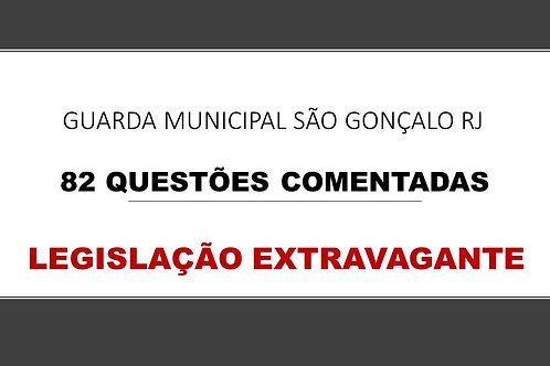 LEGISLAÇÃO EXTRAVAGANTE GUARDA MUNICIPAL SÃO GONÇALO RJ