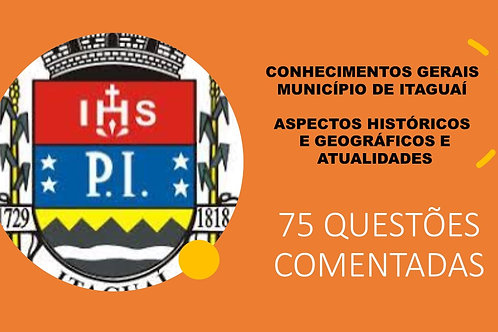 Conhecimentos Gerais do Município de Itaguaí