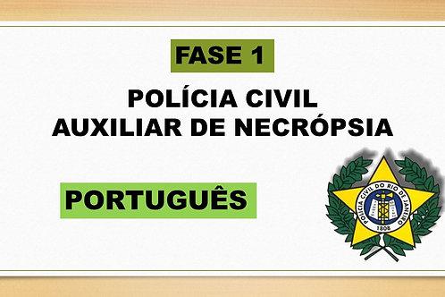 PORTUGUÊS AUXILIAR DE NECRÓPSIA FASE 1